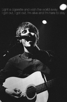 I want to see this man live. My current favorite artist. Finally a young musician who can actually make music. Jake Bugg.