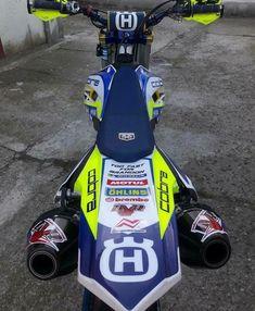 Husqvarna FC Dual Exhaust Shared by Motorcycle Fairings - Motocc Ktm 690 Enduro, Enduro Motocross, Enduro Motorcycle, Moto Bike, Motorcycle Outfit, Motard Bikes, Harley Gear, Ducati Hypermotard, Custom Sport Bikes