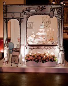 patisserie francesa By Appointment Only Design party at One Mayfair, 11 February 2011...