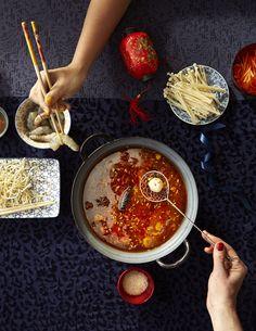 Fondue, Shabu Shabu Recipe, Traditional Chinese Food, Gourmet Recipes, Healthy Recipes, Gratin Dish, Teriyaki Salmon, Hot Pot, Salmon Recipes