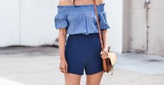 How to Wear Shorts Like the Grown Woman You Are via @PureWow