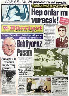 Hürriyet gazetesi 28 ağustos 1982