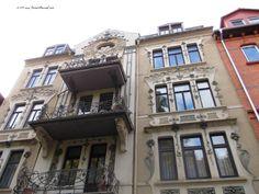Unexpected Art Nouveau building
