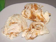 Glace sunday Vanille + coulis caramel