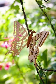 hand crafted wood butterfly 30.00 at the Fairy Stitch Factory shop