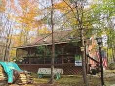 Residential Real Estate for Sale in Lake Ariel PA at 3001 North Gate Rd $117,500Cozy up to 3 BR, 2 BA Chalet cottage in The Hideout. Recent updates include h...