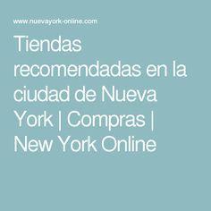 Tiendas recomendadas en la ciudad de Nueva York   Compras   New York Online