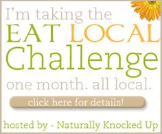 Take the challenge to eat local in August! {3 categories to choose from}
