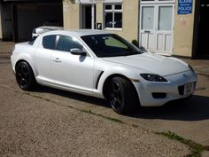 MAZDA RX-8 1.3 4DR PEARLESCENT WHITE  for sale. Rx8 for sale by Rx8specialist.com