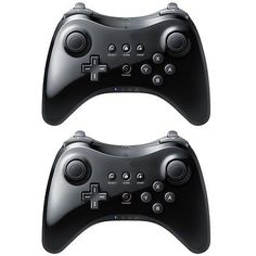 New Pro Wireless Classic Bluetooth Controller for Nintendo Wii U Black 1 pc.. USD 17.0
