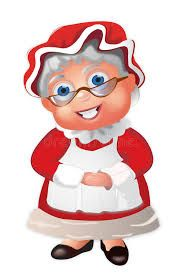 Mrs Claus stock illustration. Illustration of icon, character - 16432317