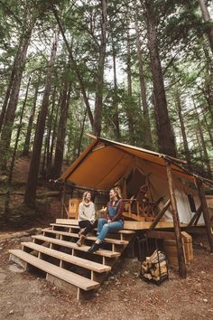 Glamping Tent in Big Sur...
