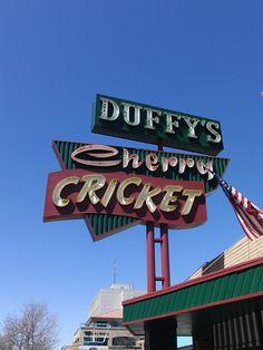 Duffys Cherry Cricket.....Denver Colorado  A #Denver institution for burgers and fries