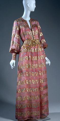 1970 Evening dress . Dior