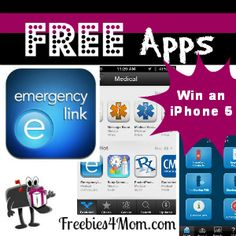 This FREE App can help you be prepared - plus they are giving away an iPhone 5 in February http://freebies4mom.com/2013/02/27/elink/