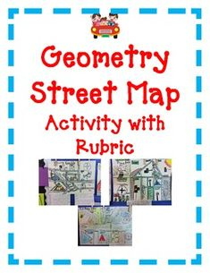 Geometry Activity Bundle  Includes 4 of your favorite Projects:  Street Map  ----Lines and Shapes  Cityscape  ---Area and Perimeter  Wild West Town  ---Lines, Area and Perimeter  Medieval Castle  ---Area and Perimeter