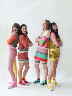 I love this stuff from ALL knitwear so much. Those box tops kill me, they really do.