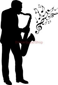Image result for jazz musicians silhouettes