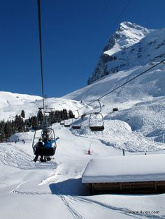 Sking in shadow of Eiger - Jungfrau, Switzerland. I skied here. It became my favorite place on earth.
