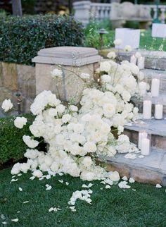 Wedding Stairs, Wedding Walkway, Wedding Reception Chairs, White Wedding Shoes, Floral Wedding, Modern Romance, Sweetheart Table, Sparklers, California Wedding