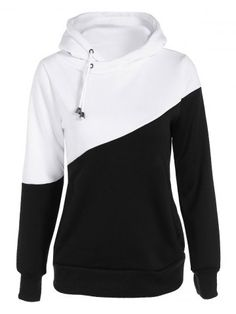 GET $50 NOW | Join RoseGal: Get YOUR $50 NOW!http://www.rosegal.com/sweatshirts-hoodies/color-spliced-pullover-loose-hoodie-756712.html?seid=7329543rg756712