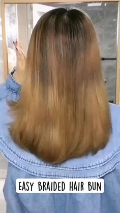 Hairdo For Long Hair, Easy Hairstyles For Long Hair, Braided Hairstyles, Hairdos, Hair Up Styles, Medium Hair Styles, Hair And Makeup Tips, Hair Makeup, Great Hair