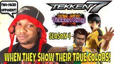 WHEN THEY SHOW THEIR TRUE COLORS! (Tekken 7 Season 4)- Eddy Gordo VS Law... Tekken 7, Two Faces, Main Character, Season 4, True Colors, Law, Gaming, Youtube, Too Faced