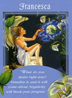 Francesca Card Extended Description - Messages from Your Angels Oracle Cards by Doreen Virtue Angel Readings, Angel Prayers, Novena Prayers, Free Angel, Angel Guidance, Angel Quotes, Angel Numbers, Doreen Virtue, Angel Cards