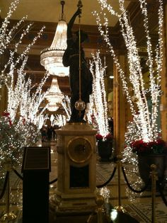 Christmas in New Orleans - The Roosevelt Hotel