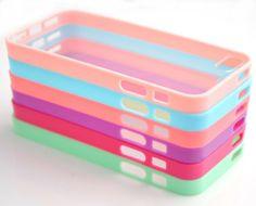 Wholesale 6pcs/lot 6 Colors Soft Trim High Clear Back Hard Cover Bumper Case Skin for iPhone 5 5G Costyle,http://www.amazon.com/dp/B00BO55FJ6/ref=cm_sw_r_pi_dp_Btkltb1Y3AAD49E6