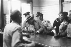 Martin Luther King being arrested in Montgomery, Alabama Martin Luther King, Civil Rights Leaders, Civil Rights Movement, Georgia, Atlanta, Love Your Enemies, Civil Disobedience, King Jr, African American History