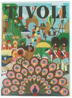 Last poster for Tivoli in Copenhagen. They somehow capture the spirit of the venerable and beloved pleasure park.