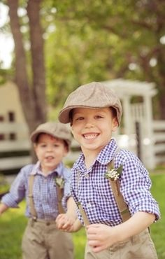 Flower Girls & Ring Bearers: Country Kids // by Lissa Anglin on Well Groomed Flower Girls, 2 Baby, Ring Boy, Groom Ring, Ring Bearer Outfit, Here Comes The Bride, Wedding Attire, Wedding Bells, Just In Case