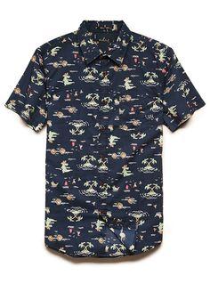 Alligator Print Shirt | 21 MEN #SummerForever #21Men