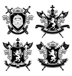 Coat of arms Royalty Free Stock Vector Art Illustration Family Crest Symbols, Arm Drawing, Shield Vector, Symbols And Meanings, Knight Armor, Free Vector Art, Vector Graphics, Coat Of Arms, Monogram