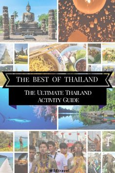 WSE Travel - Best of Thailand - The Ultimate Thailand Activity Guide Thailand Vacation, Thailand Travel Tips, Cool Places To Visit, Places To Travel, Travel Destinations, Chiang Mai, Phuket, Resorts, Bangkok