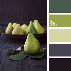 Front room, variations on the lightest cream and the green Color Palette No…