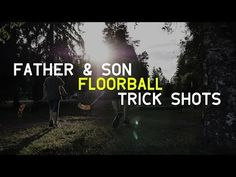 Cool Floorball Trick Shots / Siistejä säbätemppuja (How To Do) Father And Son, Shots, Youtube, Youtubers, Youtube Movies