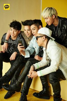 Seungri GD TOP Taeyang and Daesung