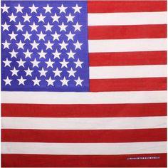 cdb6e35a99ba American Flag Bandana - 144 Units