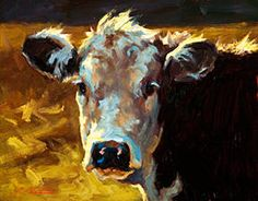 "Cheri Christensen's oil painting ""A Friend in the Field"""