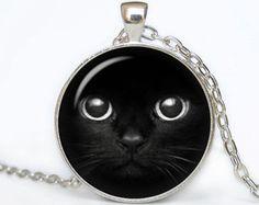 KATZE Halsketten Katze Anhänger Katze Schmuck tiere von scodinzolo