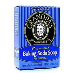 GRANDPA'S BRANDS, Baking Soda Soap - 3.25 Oz, 4 pack by Grandpa's. $18.06. The product is not eligible for priority shipping
