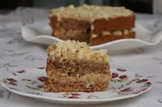 Torta de nuez y café sin harina   / Naked nut cofee cake - MABEL