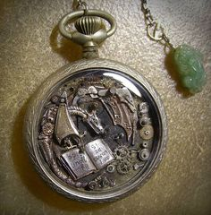Post with 42 votes and 2206 views. Shared by guessnot. Steampunk Watch Part Sculptures by Sue Beatrice Old Pocket Watches, Old Watches, Steampunk Animals, Picture Watch, Fandom Jewelry, Steampunk Design, Gothic Steampunk, Steampunk Watch, Coin Art