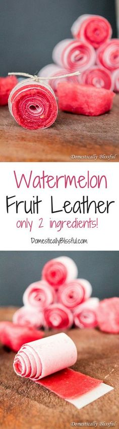 Fruit Leather Watermelon Fruit Leathers are the perfect healthy treat this summer amp; you only need 2 ingredients!Watermelon Fruit Leathers are the perfect healthy treat this summer amp; you only need 2 ingredients! Healthy Summer Snacks, Healthy Candy, Summer Treats, Healthy Treats, Summer Fruit, Healthy Birthday Treats, Watermelon Fruit, Watermelon Recipes, Fruit Recipes