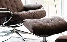 Stressless Metro | #Ekornes #Stressless #fabric #recliner #home #seating #livingroom #furniture #decor
