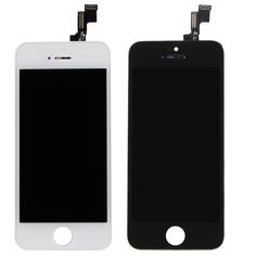 White & Black  Front LCD Display With Digitizer Touch Screen Replacement For iPhone 5S 5C VAH82 VAH83 T100 #clothing,#shoes,#jewelry,#women,#men,#hats,#watches,#belts,#fashion,#style