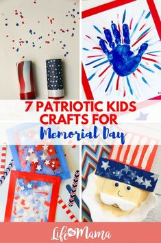 These crafts are fun, patriotic, and the perfect way for your kiddos to spend their Memorial Day. As an added bonus, most of these can also be used for the 4th of July as well!