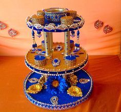 The show stopper Mehndi plate, see my Facebook page www.facebook.com/mehnditraysforfun for more ideas and inspiration